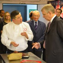 The Duke of York Visits Demarquette Fine Chocolates